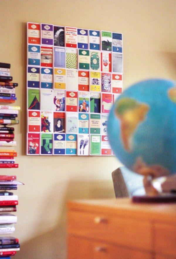 12. DIY Postcard Wall Art