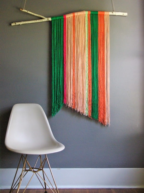 23. Yarn Wall Hanging