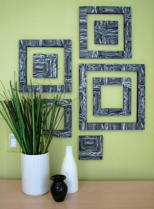 28. Patterned Wall Squares