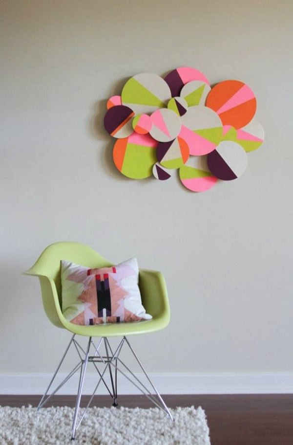 29. 3D Geometric Wall Art