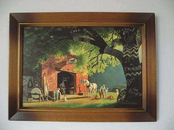 59. Thrift Store Art Update