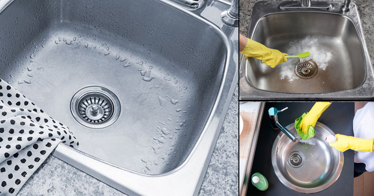How To Polish A Stainless Steel Sink Shine Your Sink