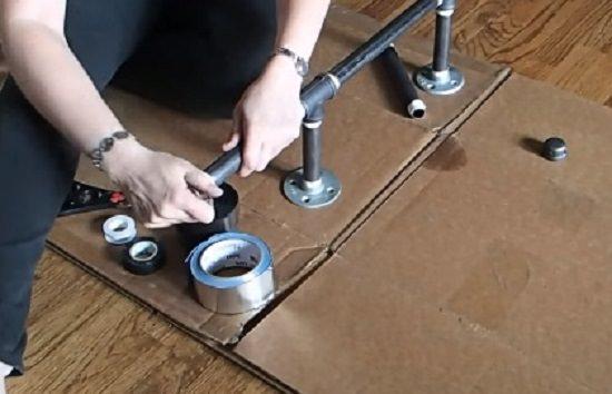 DIY Pull Up Bar At Home