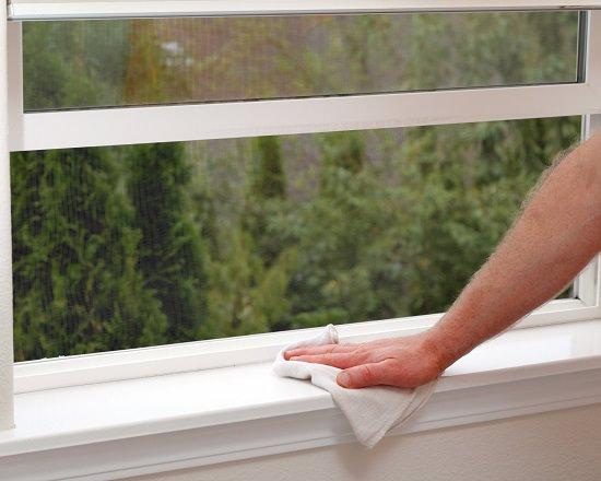 Clean Windowsills
