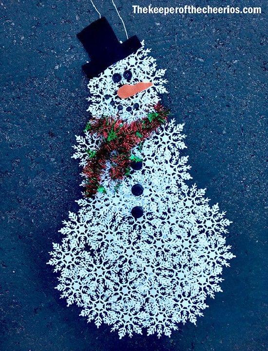 Easy Cheap DIY Christmas Decoration 18