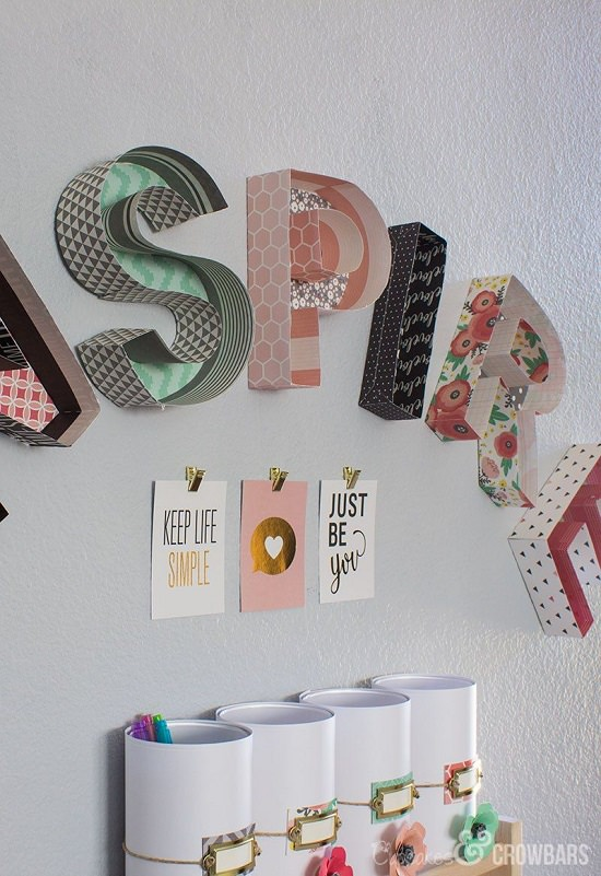 DIY room decor ideas with paper 10