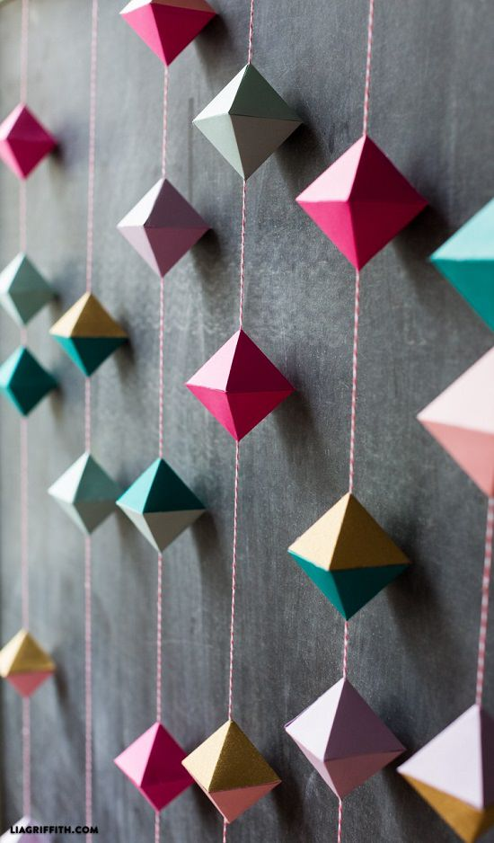 DIY room decor ideas with paper 13