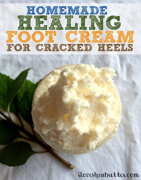 Homemade Foot Cream recipes 3