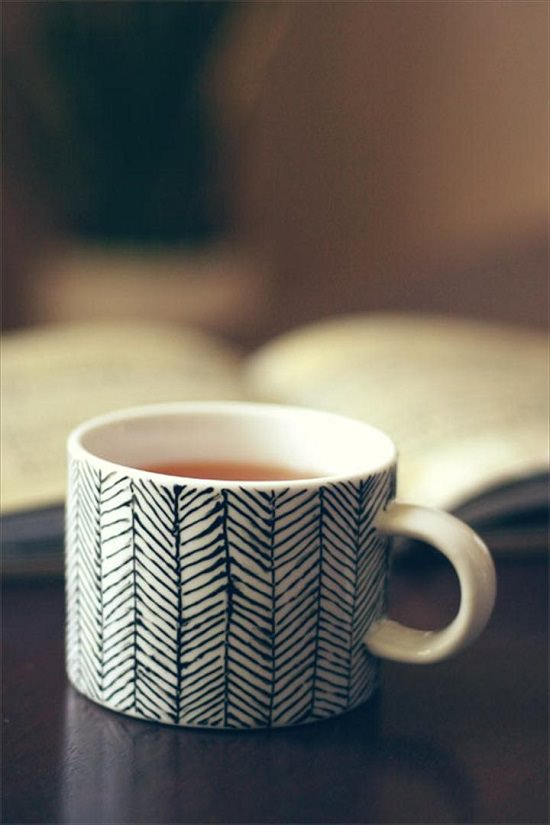 DIY Hand Painted Coffee Mugs 7