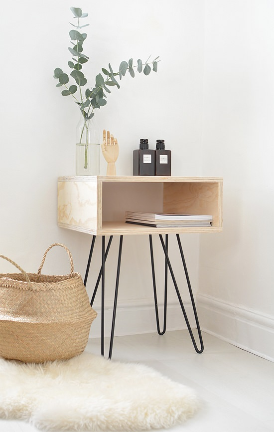 DIY Nightstand Ideas 1