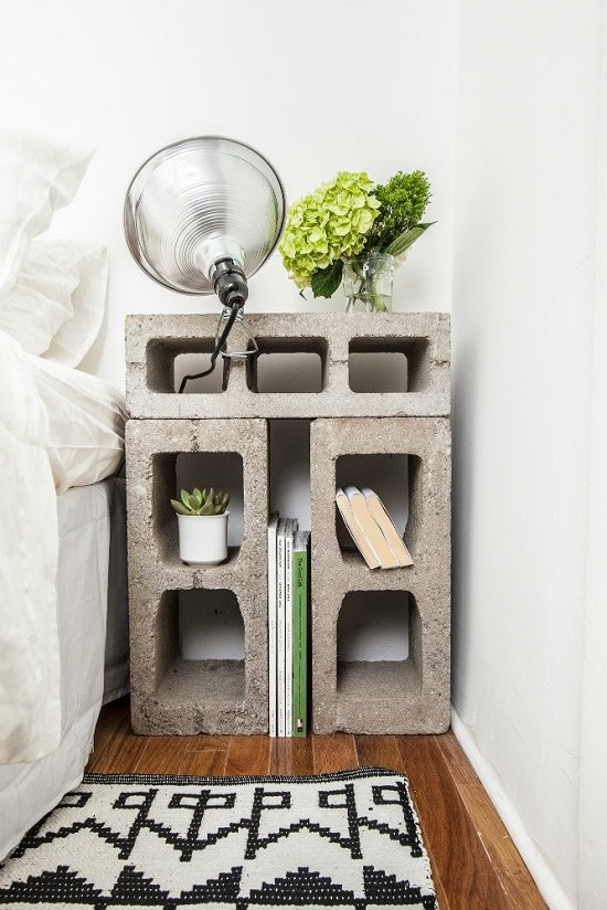 DIY Nightstand Ideas 13