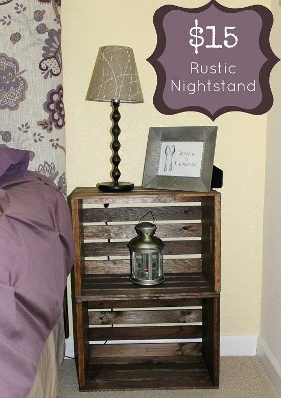 DIY Nightstand Ideas 2