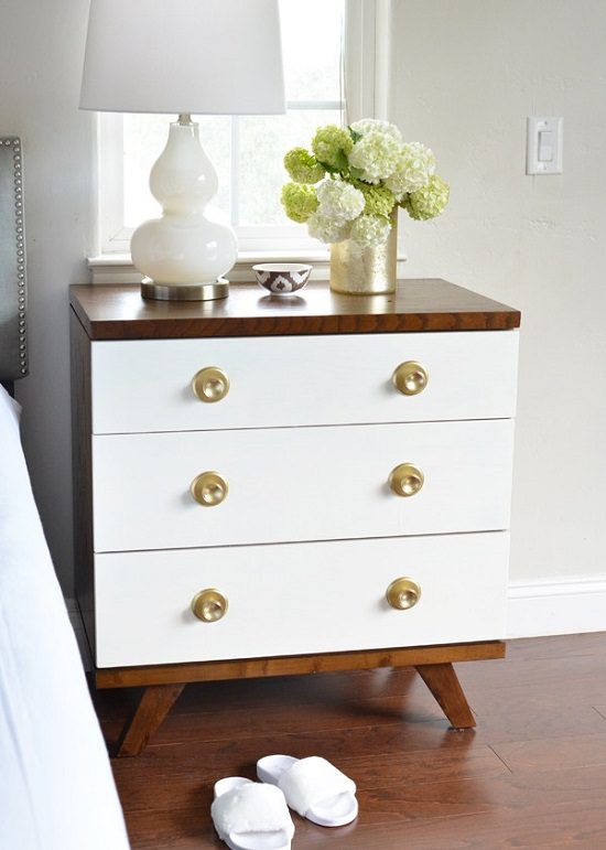 DIY Nightstand Ideas 20