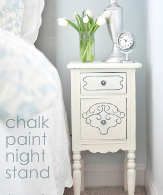 DIY Nightstand Ideas 22