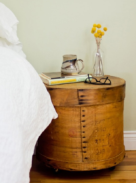 DIY Nightstand Ideas 26