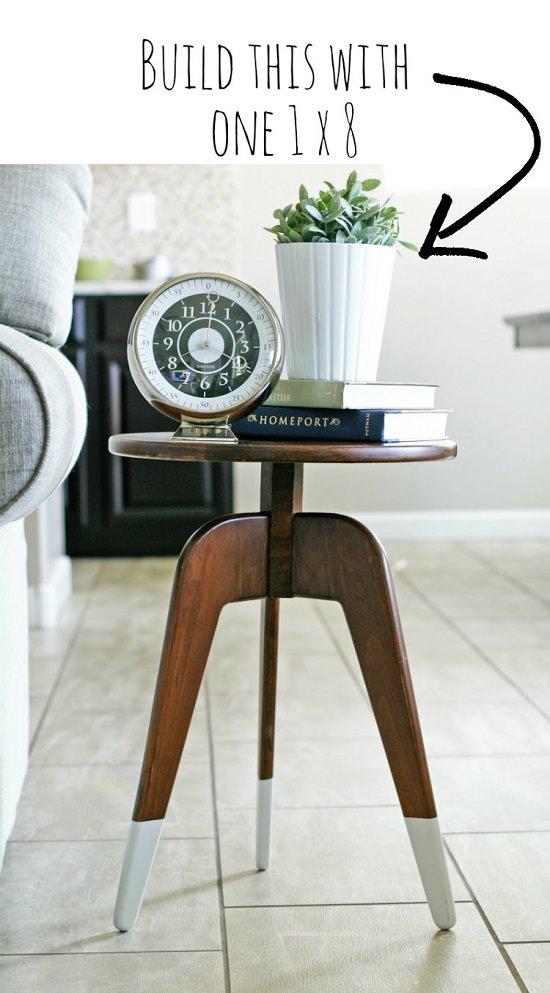 DIY Nightstand Ideas 33