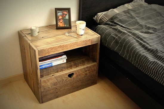 DIY Nightstand Ideas 5