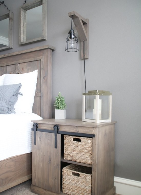 DIY Nightstand Ideas 7