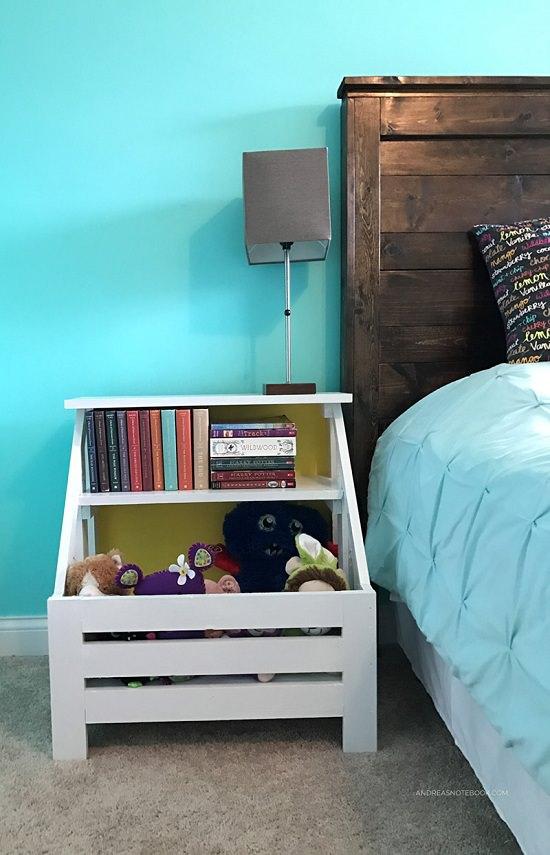 DIY Nightstand Ideas 8