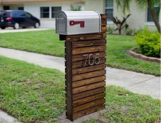 DIY Mailbox Ideas 13