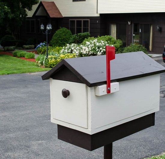DIY Mailbox Ideas 15