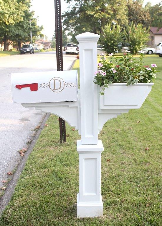 DIY Mailbox Ideas 17