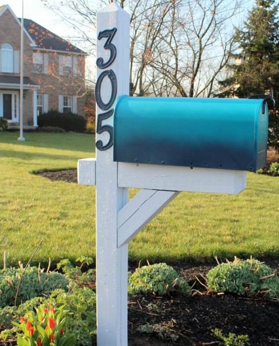 DIY Mailbox Ideas 18