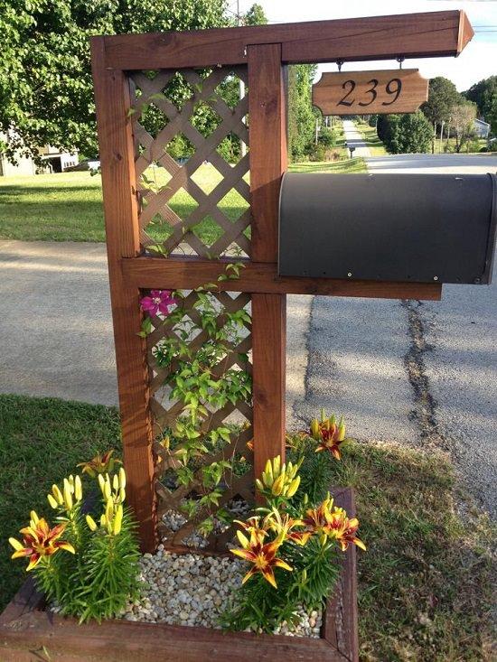 DIY Mailbox Ideas 19