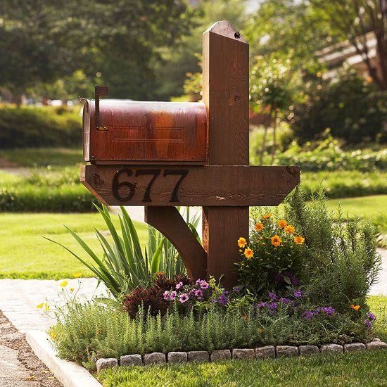 DIY Mailbox Ideas 20