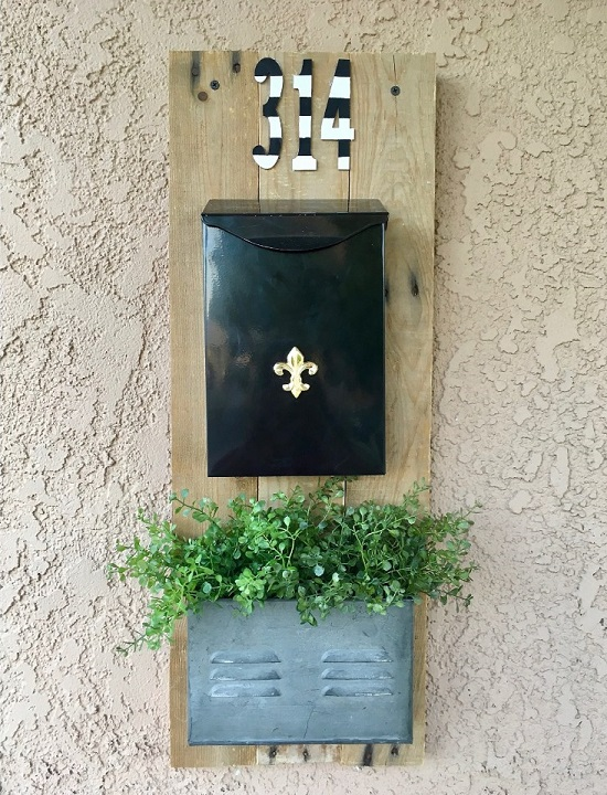 DIY Mailbox Ideas 21