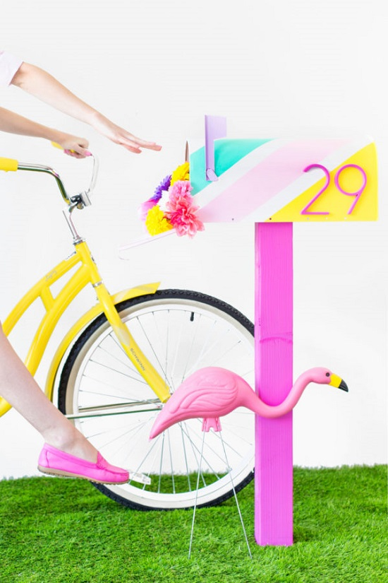 DIY Mailbox Ideas 22