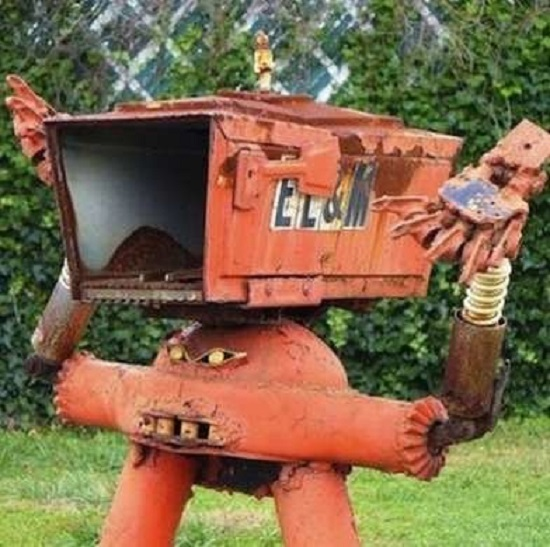 DIY Mailbox Ideas 24