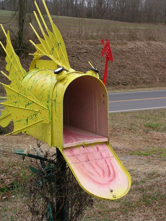 DIY Mailbox Ideas 26