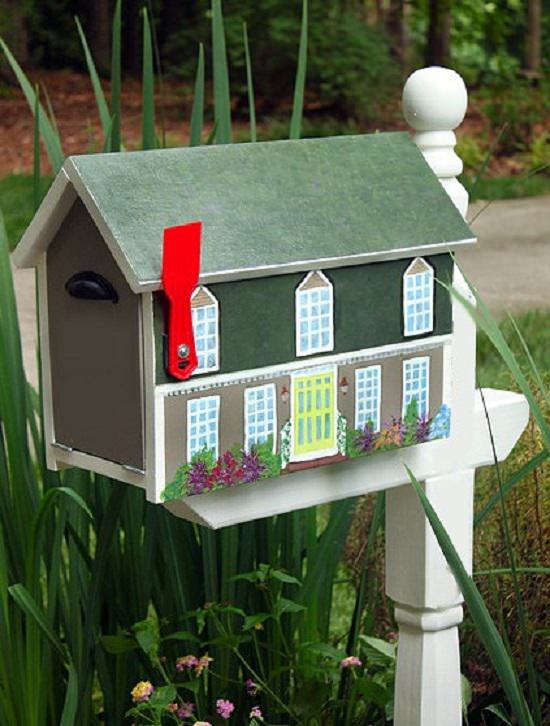 DIY Mailbox Ideas 8