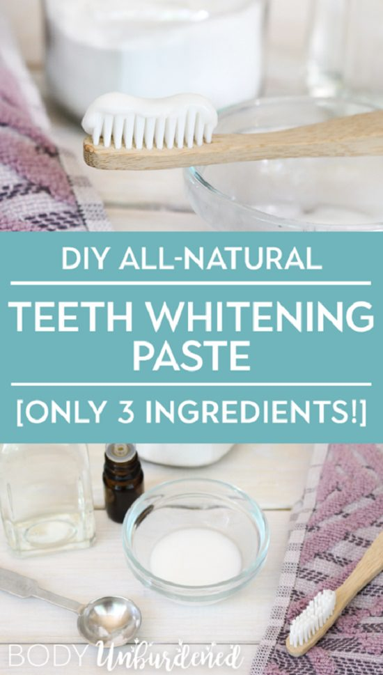 All Natural Teeth Whitener Recipes 3