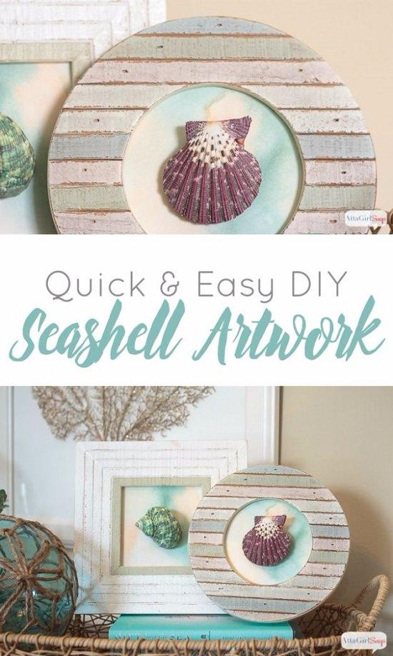 Craft Ideas with Sea Shells 7