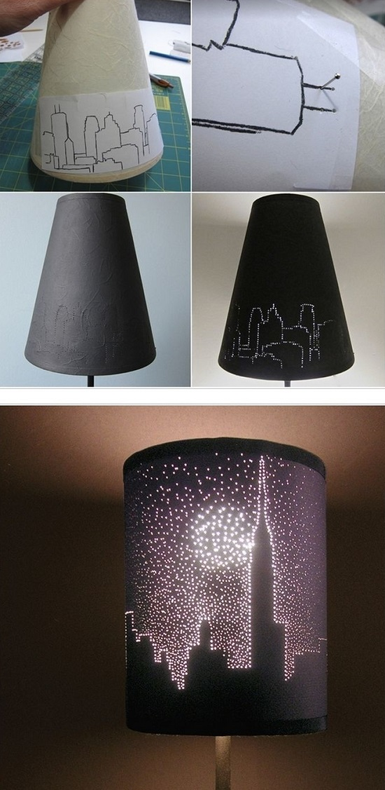Easy DIY Lamp Ideas 9