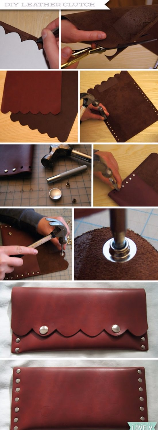 Leather DIY Crafts 17