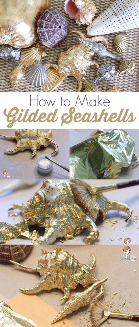 Craft Ideas with Sea Shells 13