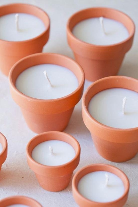 Easy DIY Candles 15