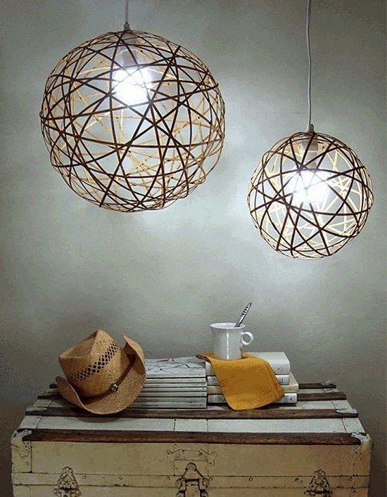 Easy DIY Lamp Ideas 4