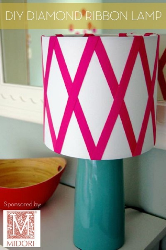 Easy DIY Lamp Ideas 5