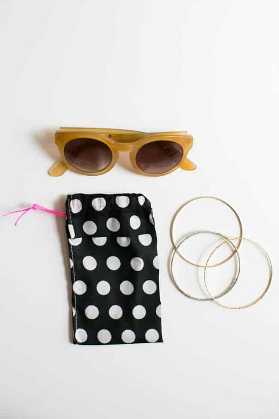 DIY Sunglass Case Ideas 1