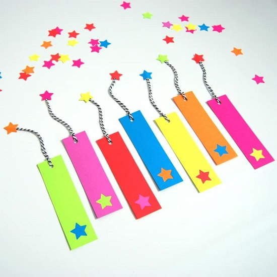 Bookmarks with stars