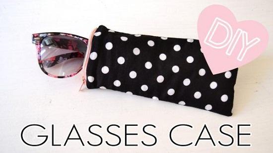 DIY Sunglass Case Ideas 26