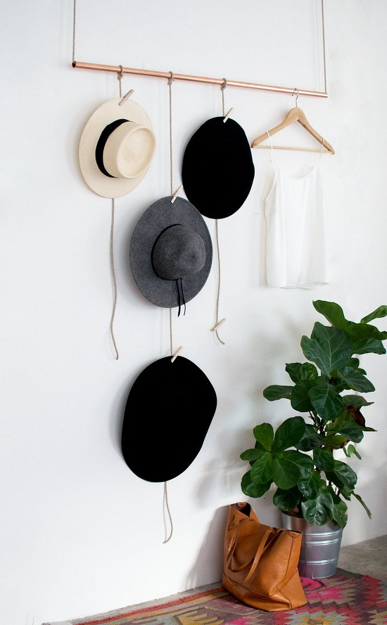 1 Homemade Hat Rack Ideas