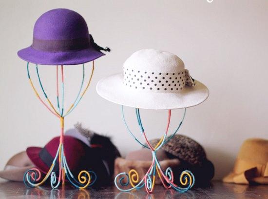 Homemade Hat Rack Ideas 10