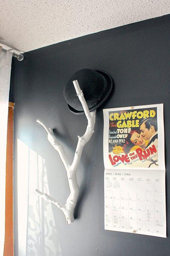 Homemade Hat Rack Ideas 12