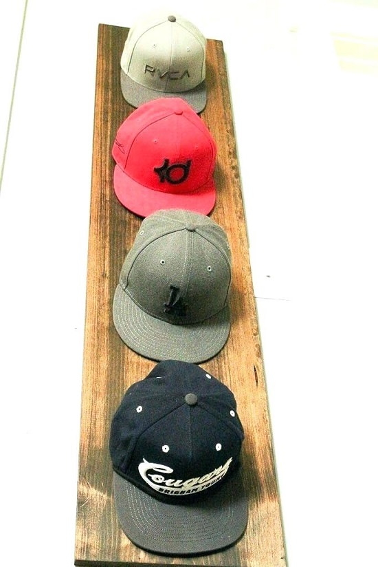 Homemade Hat Rack Ideas 15
