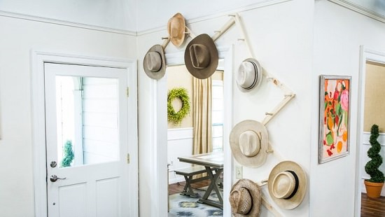 Homemade Hat Rack Ideas 16